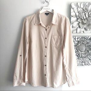 SPLENDID Velour Corduroy Button-Down Shirt